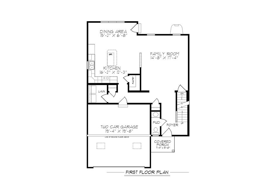 Jameson First Floor Plan