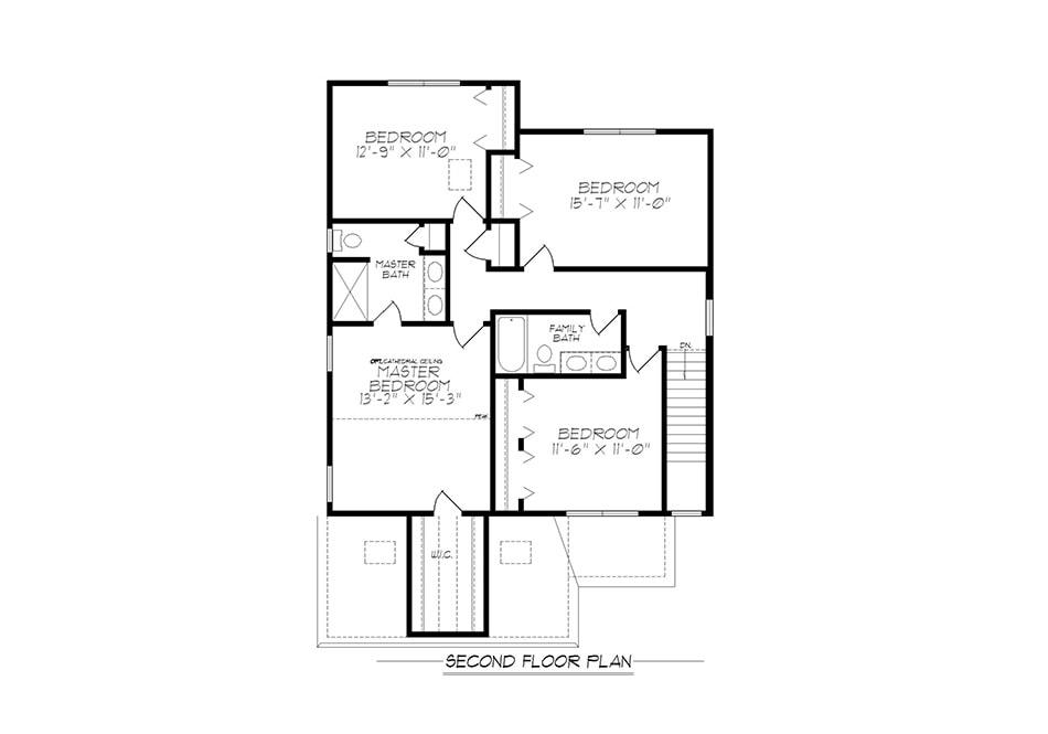 Jameson Second Floor Plan