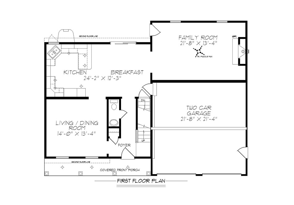 Kimble First Floor Plan