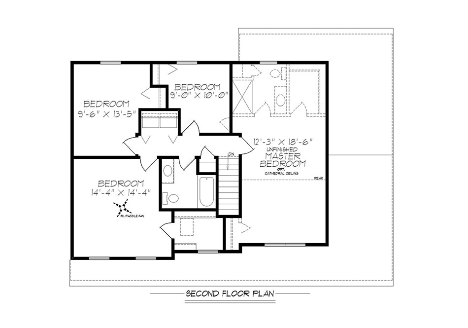 Kimble Second Floor Plan