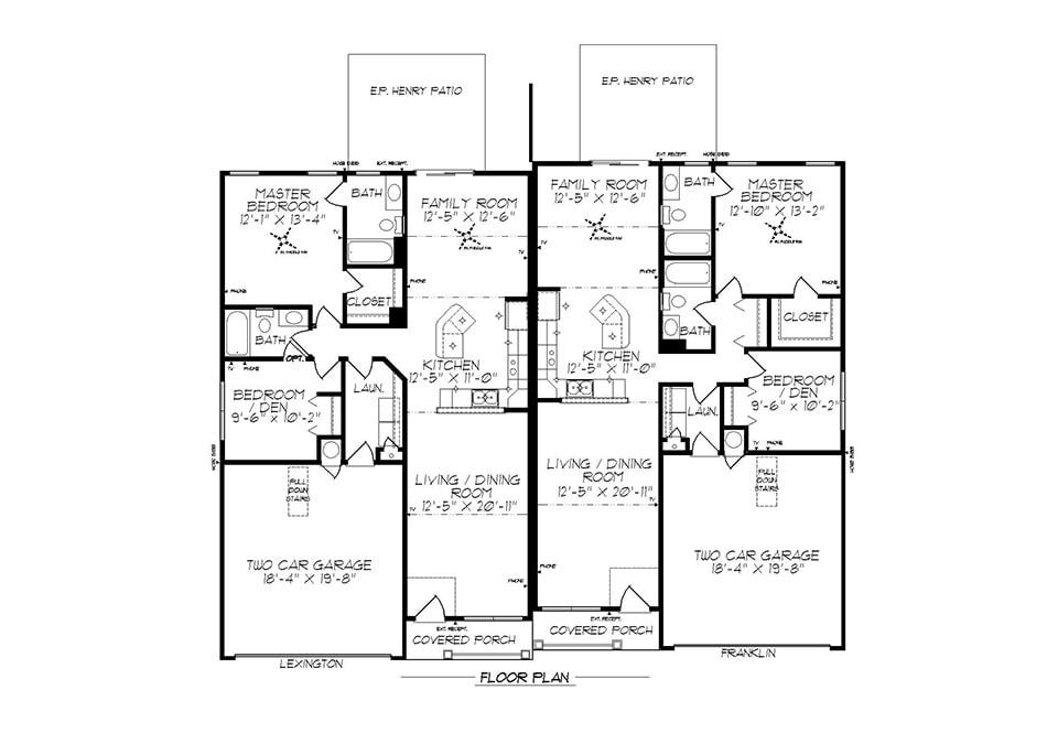 Lexington First Floor Plan