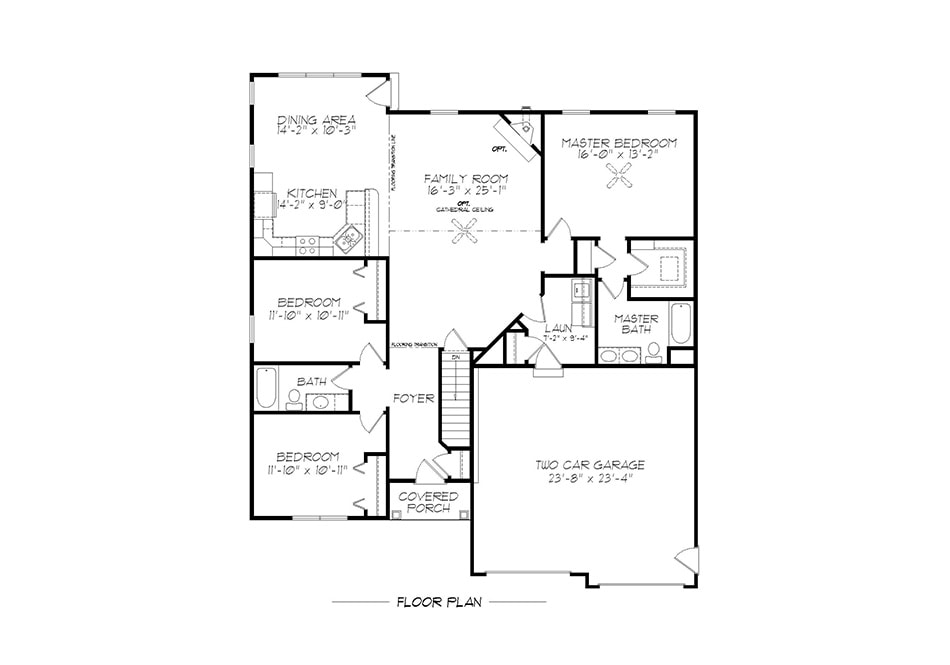 Linden First Floor Plan