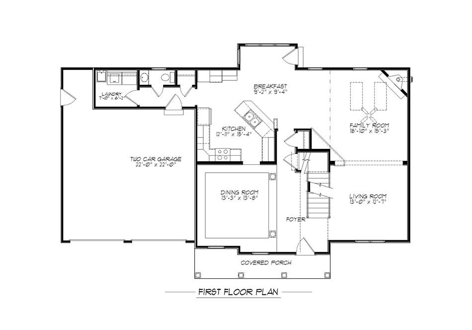Raleigh First Floor Plan