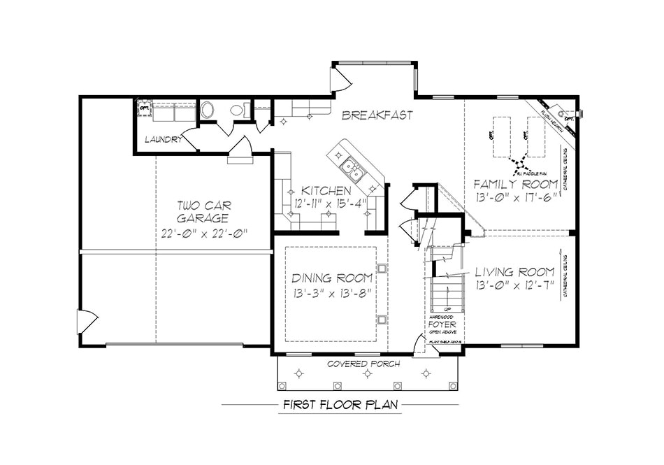 Raleigh First Floor Plan