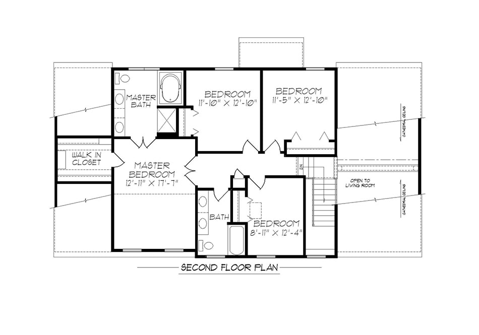 Raleigh Second Floor Plan