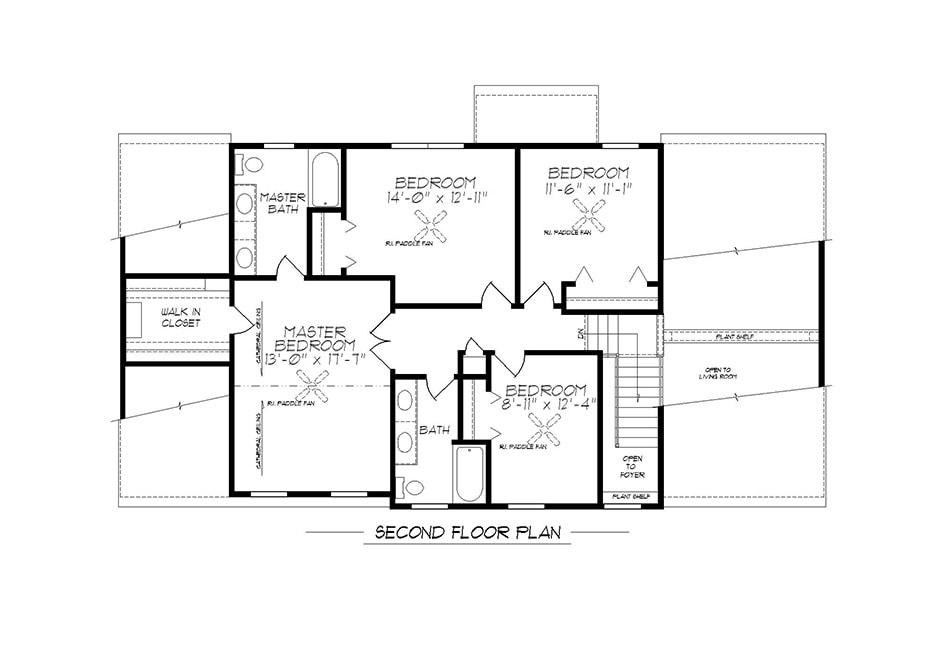 Raleigh Second Floor Plan