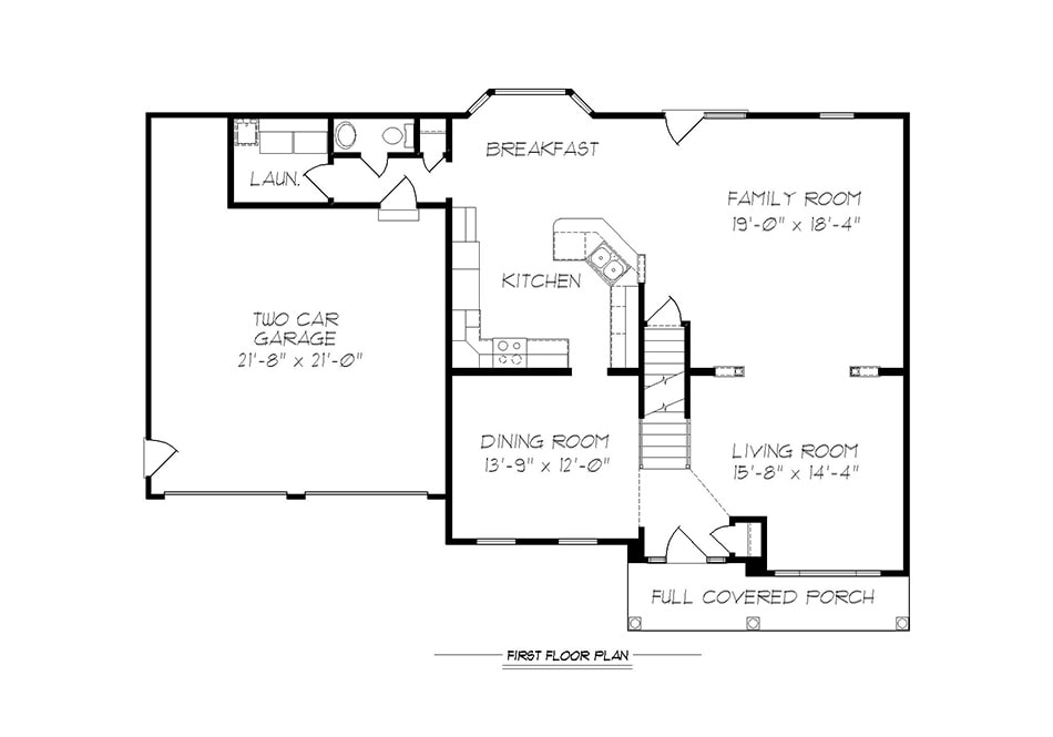 Regis First Floor Plan