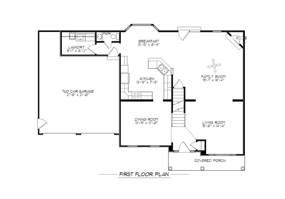 Regis First Floor Plan