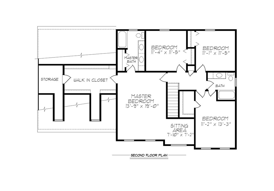 Regis Second Floor Plan