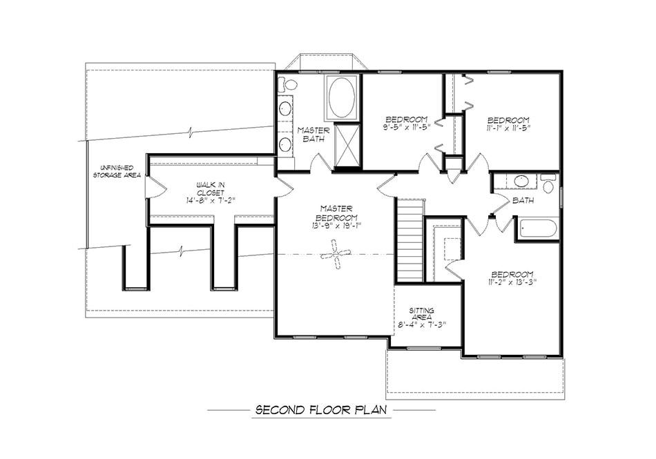 Regis Second Floor Plan