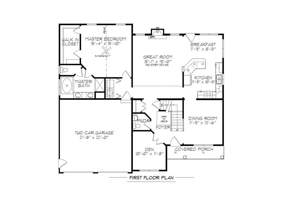 Richmond First Floor Plan