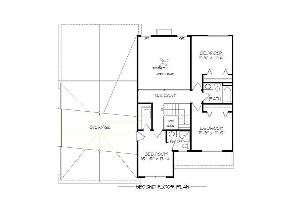 Richmond Second Floor Plan