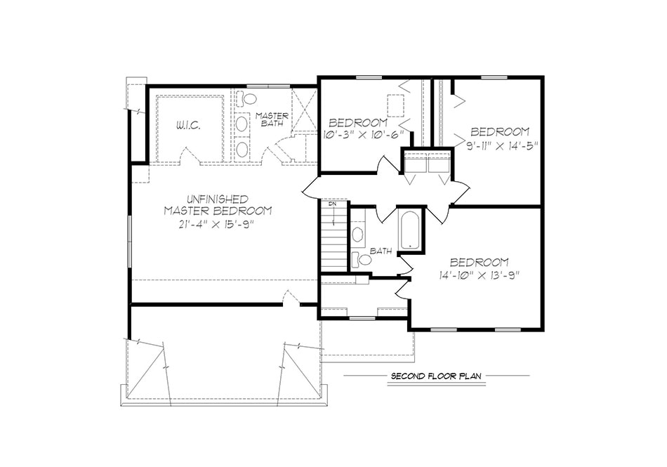 Riley Second Floor Plan