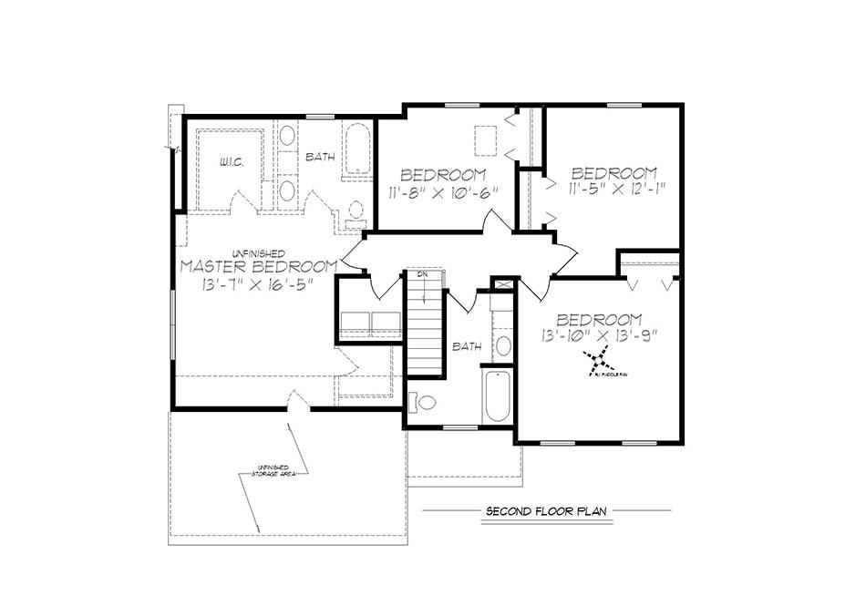 Riley II Second Floor Plan