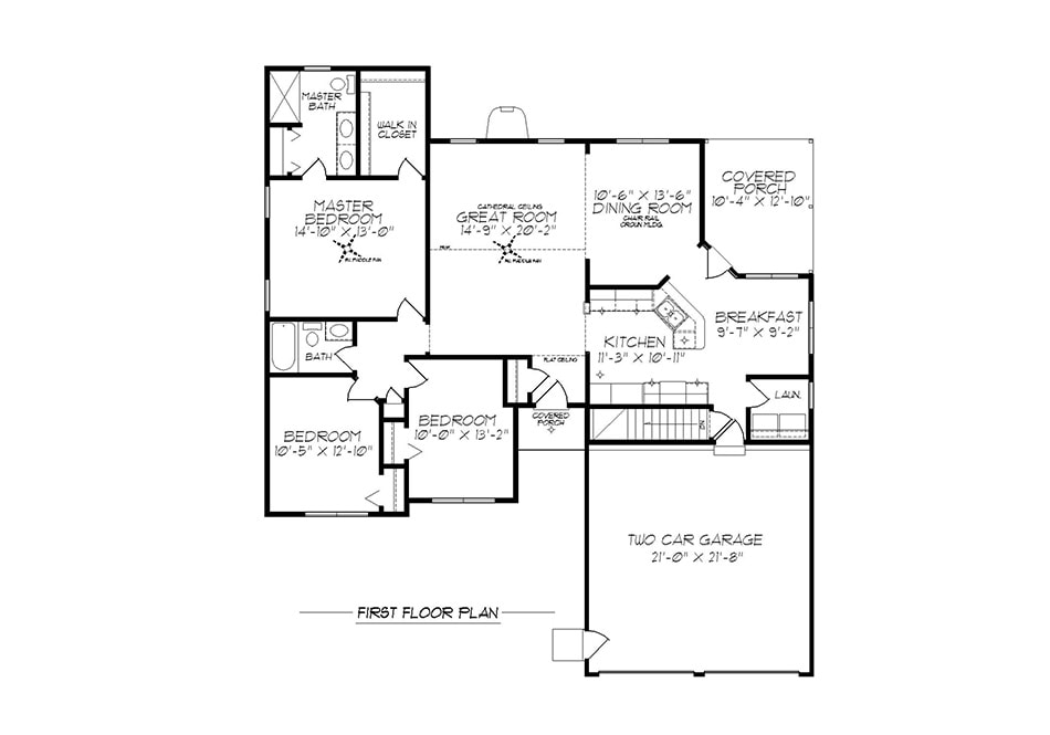 Tennyson First Floor Plan