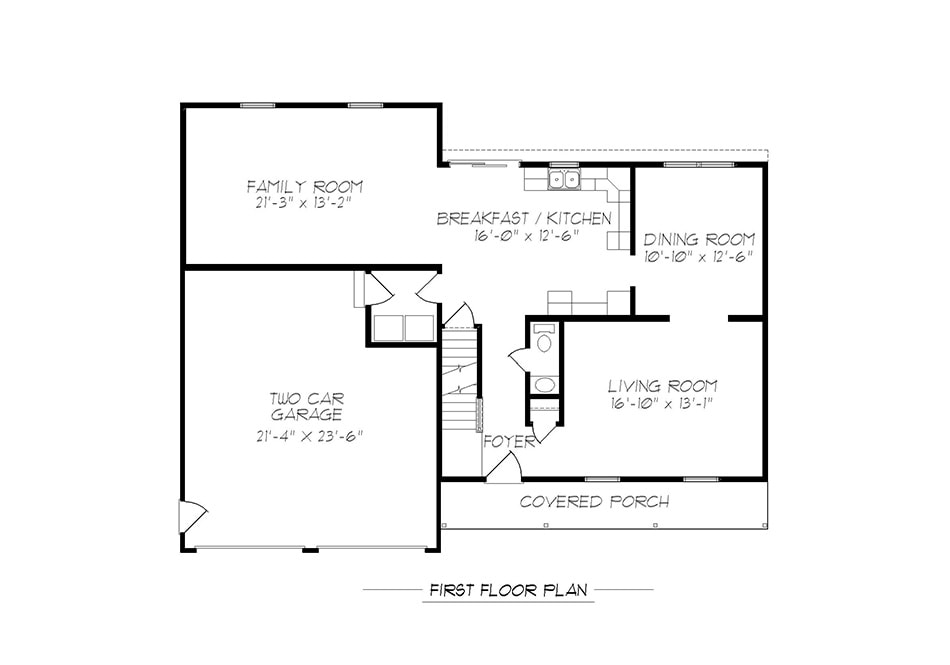 Wakefield First Floor Plan