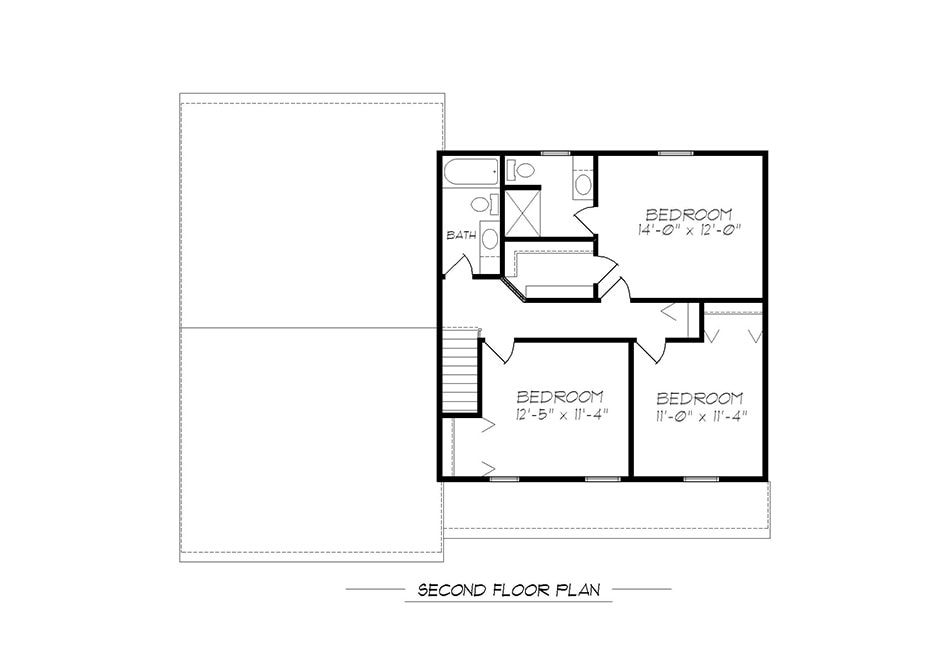 Wakefield Second Floor Plan