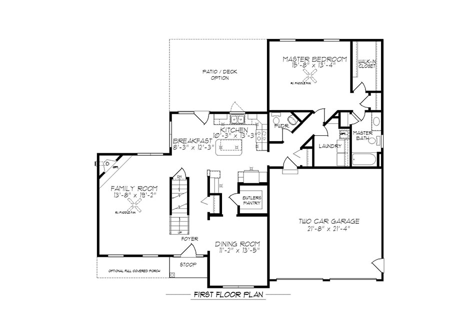 Warren First Floor Plan