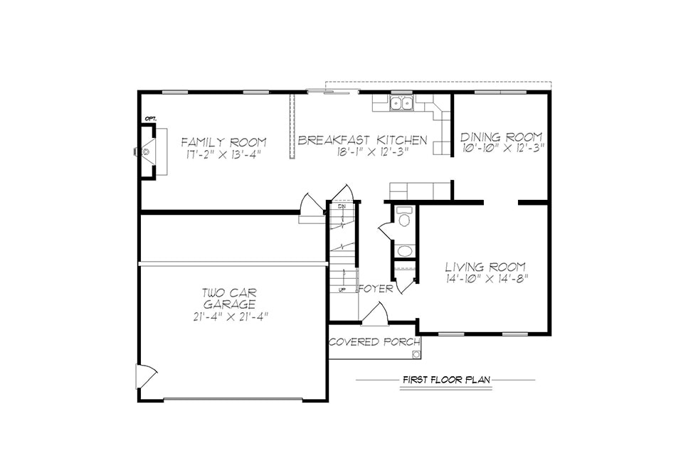 Warwick First Floor Plan