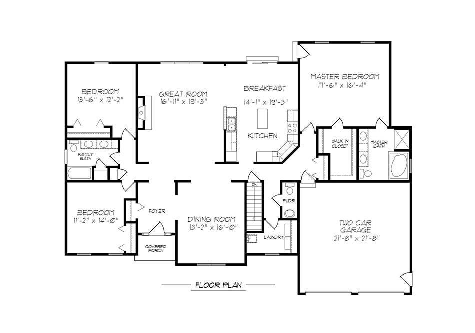 Wellington First Floor Plan