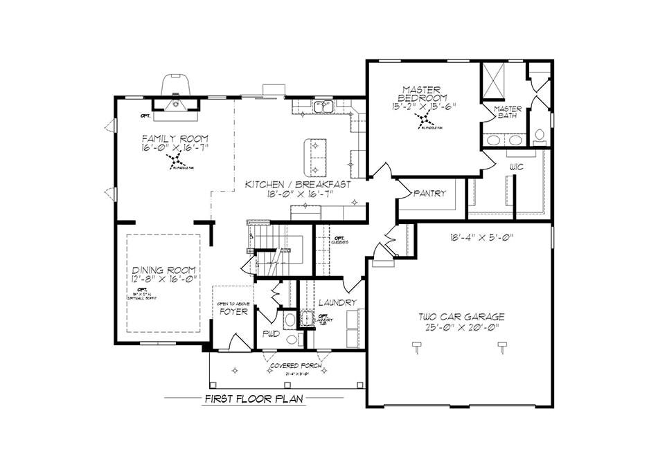 Windsor First Floor Plan