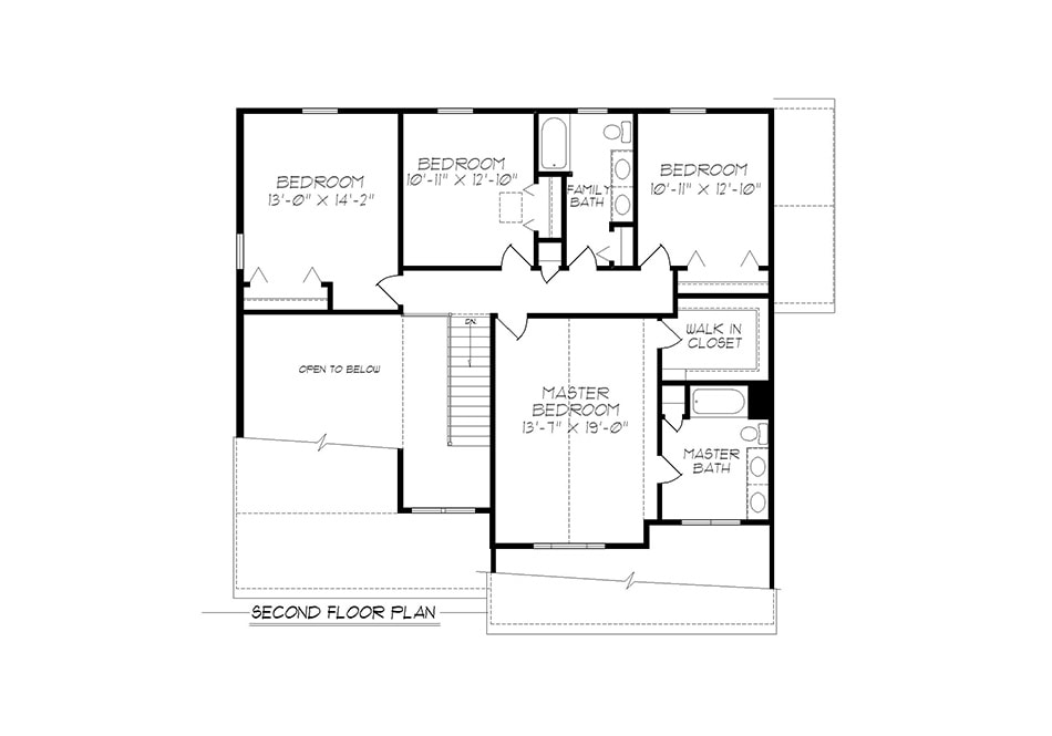 Wyndmour Second Floor Plan