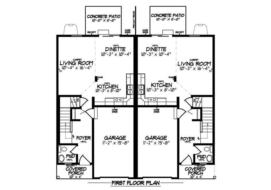 Aspen Gold First Floor Plan