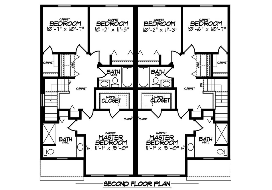 Aspen Gold Second Floor Plan