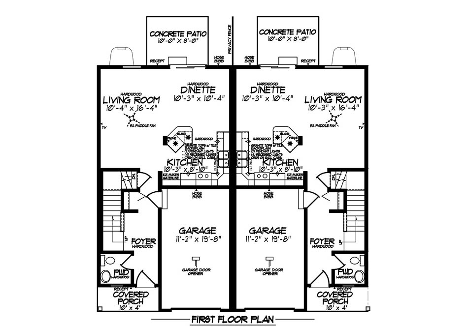 Aspen Platinum First Floor Plan