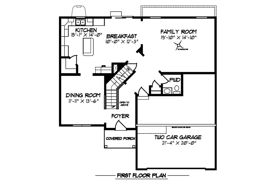 Dalton American First Floor Plan