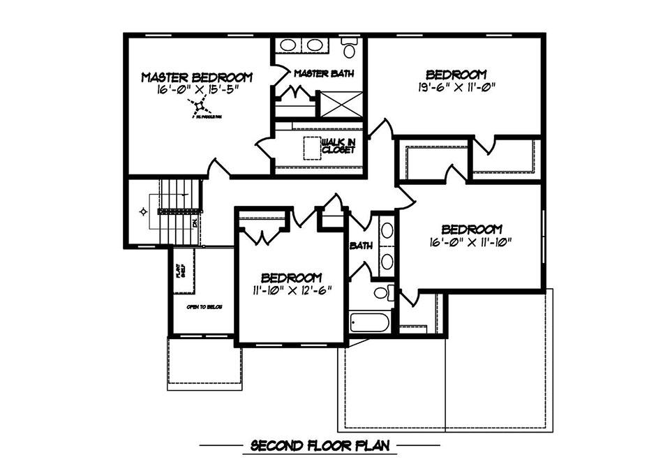 Glenwood Heritage Second Floor Plan