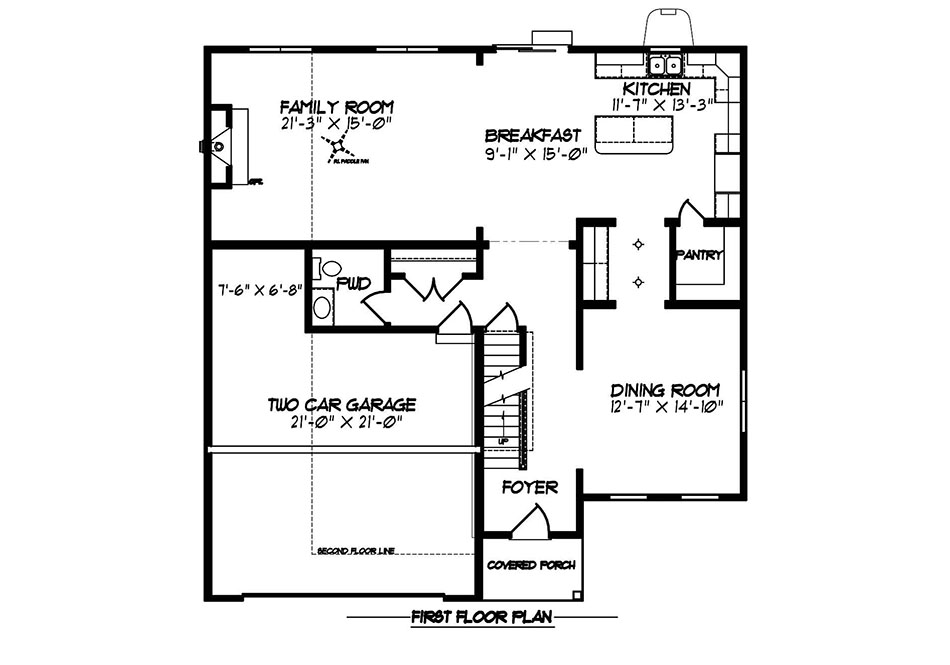 Carlton Heritage First Floor Plan