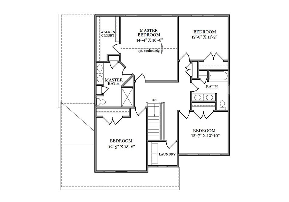 Carlton Heritage Second Floor Plan