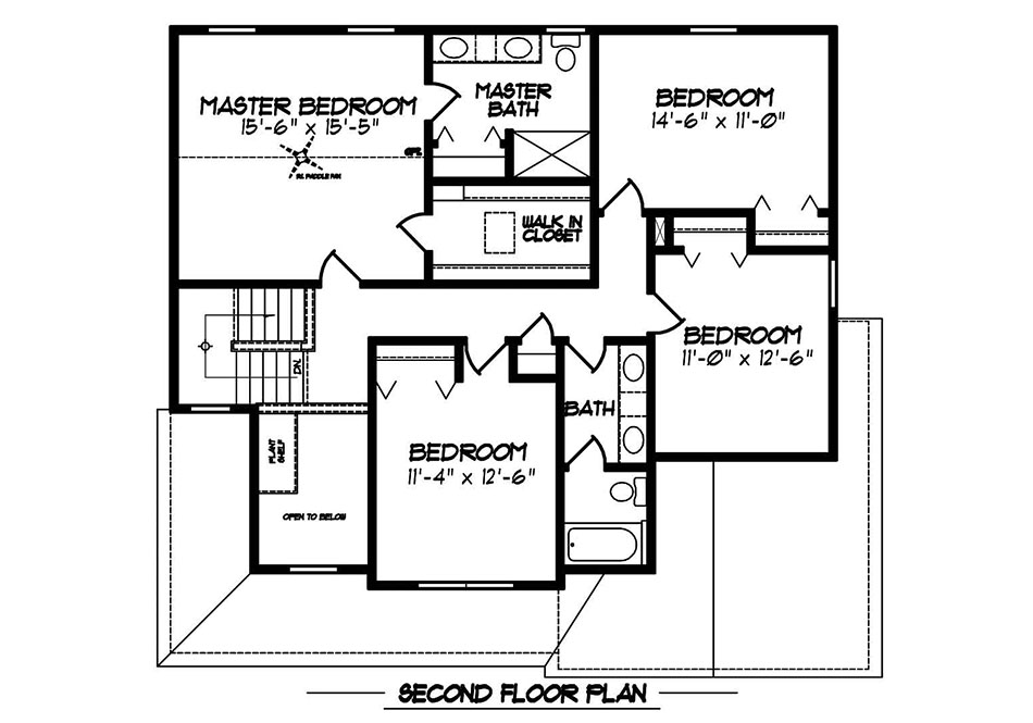 Glenwood II First Floor Plan