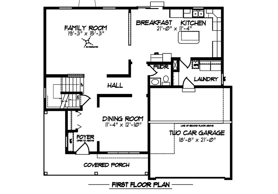 Glenwood II Second Floor Plan