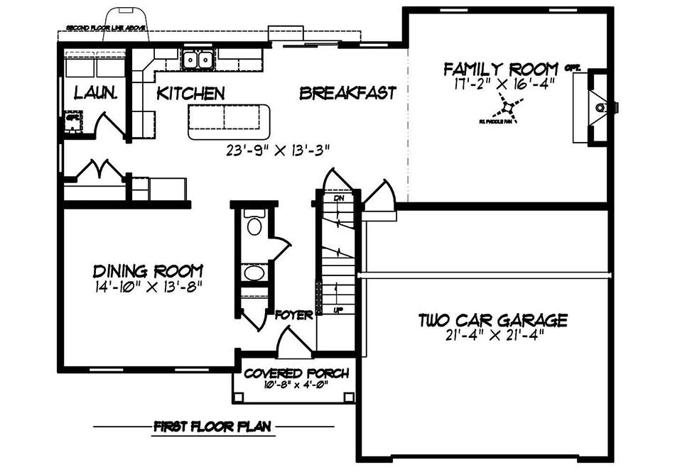 Riley Heritage First Floor Plan