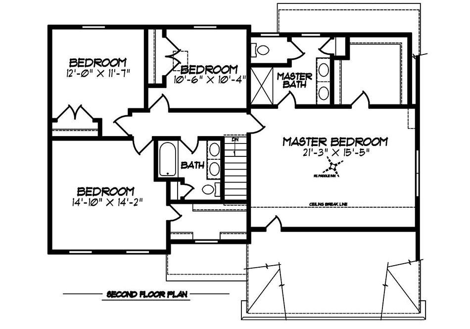 Riley Heritage Second Floor Plan