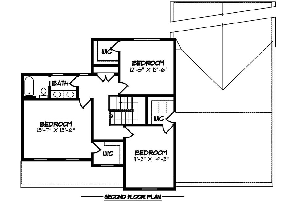 Warren American Second Floor Plan