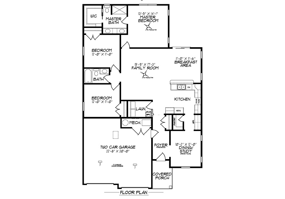 Radcliff First Floor Plan