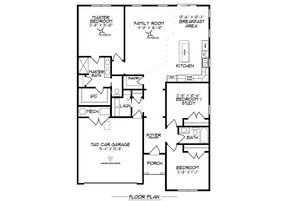 Stehman First Floor Plan