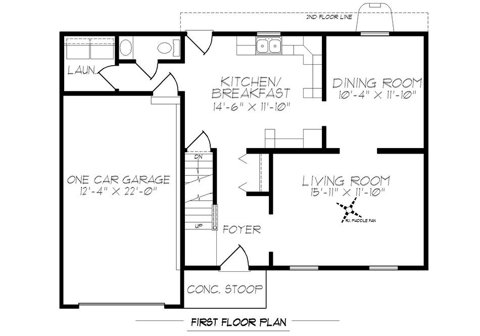 Stratford First Floor Plan