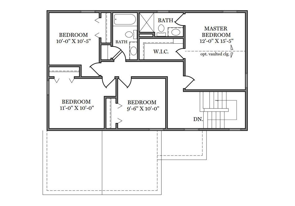 Ashford Second Floor Plan