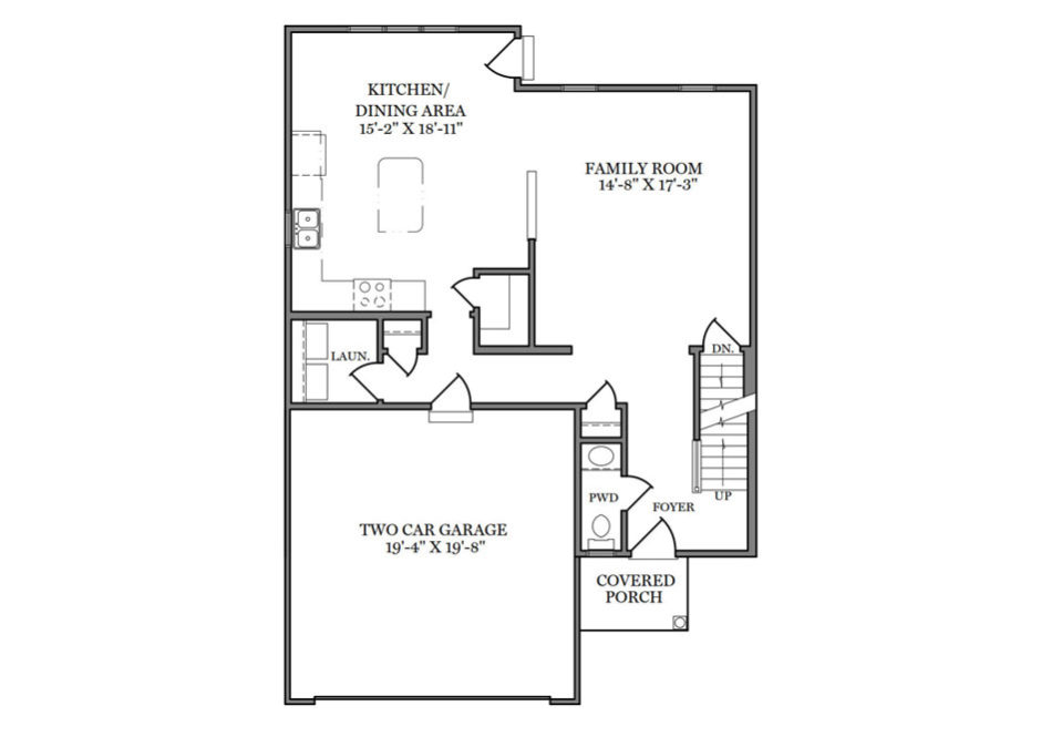 Jameson First Floor Plan
