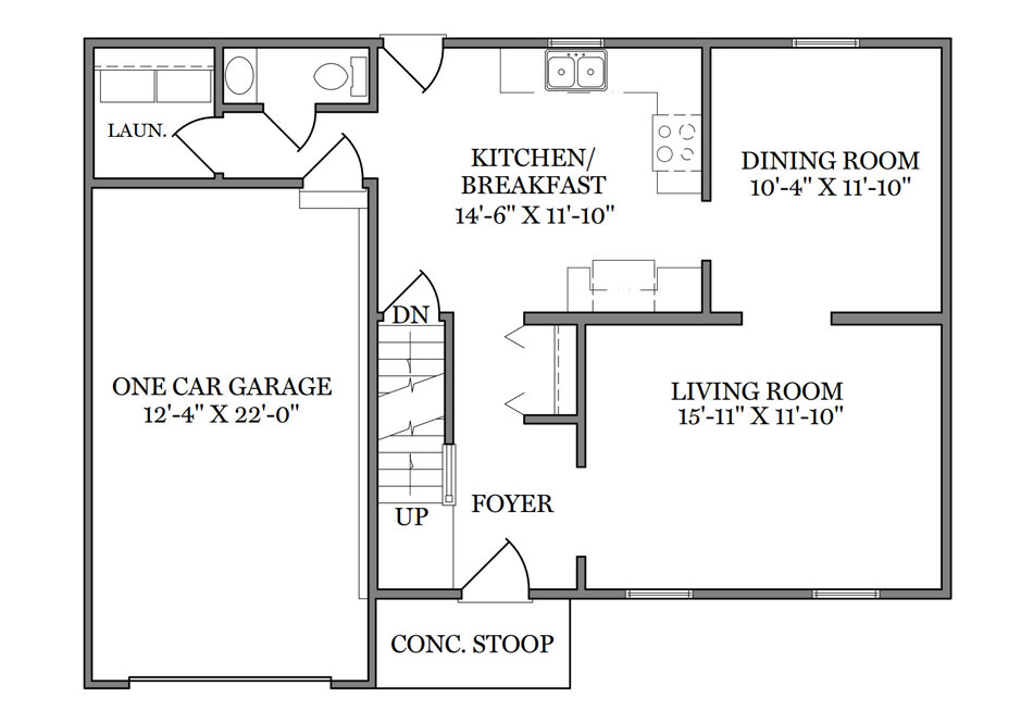 Stratford First Floor Plan