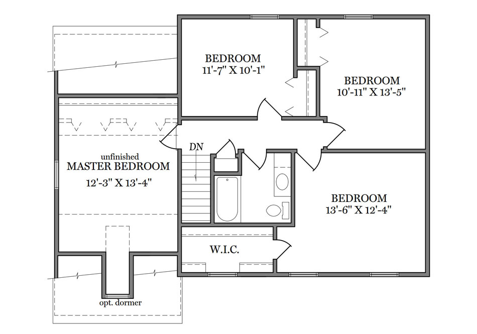 Stratford Second Floor Plan