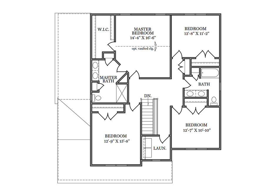 Carlton Second Floor Plan