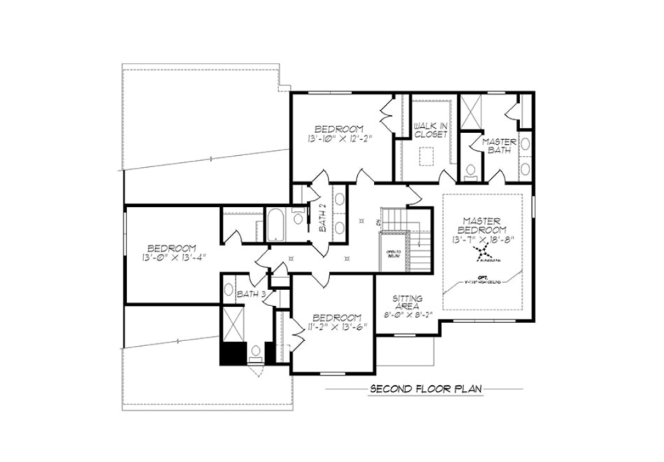 Magnolia Second Floor Plan