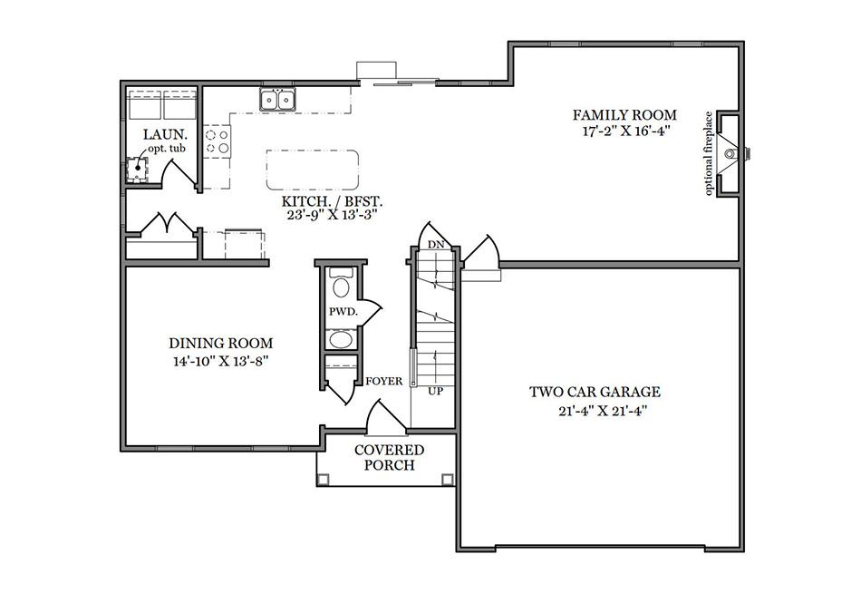 Riley First Floor Plan