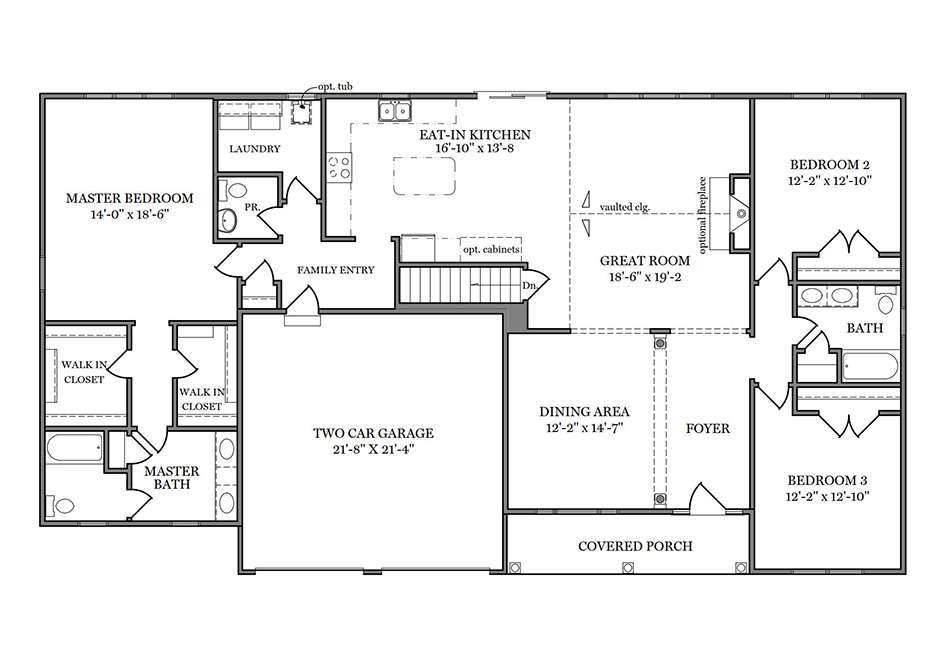 Somerset First Floor Plan