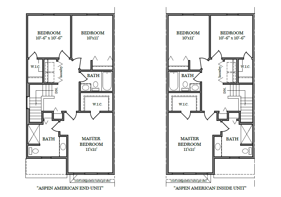 Aspen American Second Floor Plan
